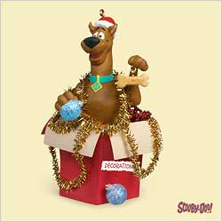 2006 Scooby-doo - Decorating Hallmark Ornament