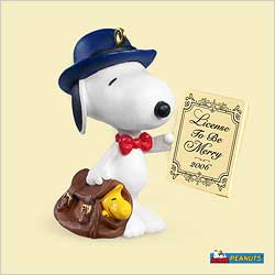 2006 Spotlight On Snoopy #9 - Legal Beagle Hallmark Ornament
