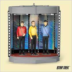 2006 Star Trek - Transporter Chamber Hallmark Ornament