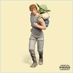 2006 Star Wars #10 - Skywalker And Yoda Hallmark Ornament