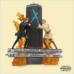 2006 Star Wars - Anakin Skywalker And Obi-wan - DB Hallmark Ornament