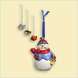 2006 Sweet Tooth Treats #5f - Snowman Hallmark Ornament