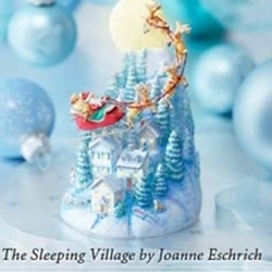2006 The Sleeping Village - Club Hallmark Ornament