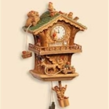 2006 The Workshop Clock - Club Hallmark Ornament