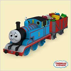 2006 Thomas The Tank - Cheery Cargo Hallmark Ornament