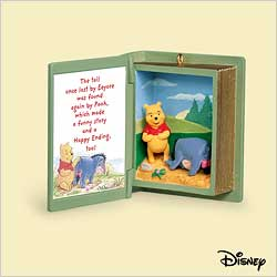 2006 Winnie The Pooh - Book #9 - Eeyore Loses Tail Hallmark Ornament