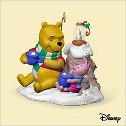 2006 Winnie The Pooh - Cocoa For Two Hallmark Ornament