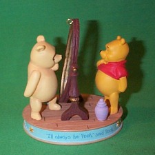 2006 Winnie The Pooh - I'll Always Be Pooh Hallmark Ornament