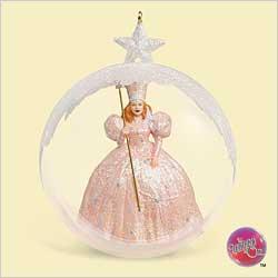 2006 Wizard Of Oz - Glinda Arrives Hallmark Ornament