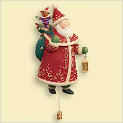 2006 Yuletide Treasures #1 - Santa Hallmark Ornament