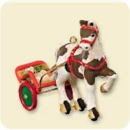 2007 A Pony For Christmas #10 Hallmark Ornament