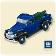 2007 All American Trucks #13 - 1947 Chevy Hallmark Ornament