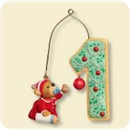 2007 Baby's 1st Christmas - Age Collection Hallmark Ornament