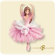 2007 Barbie - Flower Ballerina Hallmark Ornament