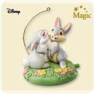 2007 Disney - All Atwitter - Thumper Hallmark Ornament