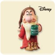 2007 Disney - Grumpy Before Coffee Hallmark Ornament