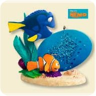 2007 Disney - Marlin And Dory Hallmark Ornament