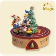 2007 Disney - Mickey's Jingle Bell Express Hallmark Ornament