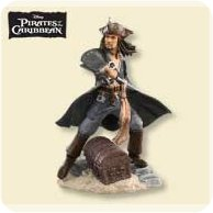 2007 Disney - Pirates Of The Caribbean Hallmark Ornament