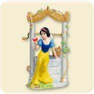 2007 Disney - Snow White Wishing Well Hallmark Ornament