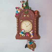 2007 Disney - Time For Christmas Clock Hallmark Ornament