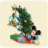 2007 Disney - Trimming The Tree Hallmark Ornament