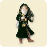 2007 Father Christmas #4 Hallmark Ornament