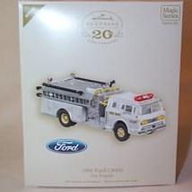 2007 Fire Brigade #5 - 1988 Ford C8000 - Colorway - MIB Hallmark Ornament