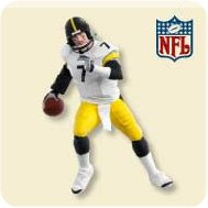 2007 Football #13 - Ben Roethlisberger Hallmark Ornament