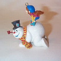 2007 Frosty The Snowman - Let's Have Some Fun Hallmark Ornament