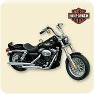 2007 Harley Davidson #9 - Fxdbi Dyna Street Bob Hallmark Ornament
