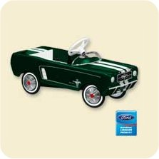 2007 Kiddie Car Classic - Mustang - Green Hallmark Ornament