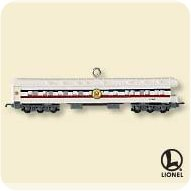 2007 Lionel - Observation Car Hallmark Ornament