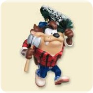 2007 Lt - Me Get Tree - Taz Hallmark Ornament