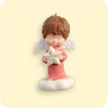 2007 Mary's Angels - Rose - 20th Anniversary Hallmark Ornament
