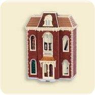2007 Nostalgic Houses #24 - Bookstore Hallmark Ornament
