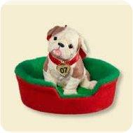 2007 Puppy Love #17 Hallmark Ornament
