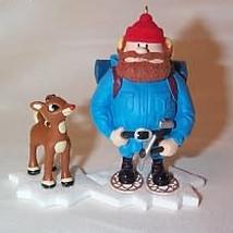 2007 Rudolph - Yukon Cornelius And Rudolph Hallmark Ornament