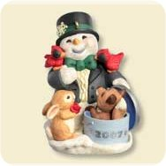 2007 Snow Buddies - Anniversary Hallmark Ornament
