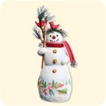2007 Snowtop Lodge #3 - Colleen C. Evergreen Hallmark Ornament