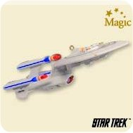 2007 Star Trek - Future Uss Enterprise Hallmark Ornament