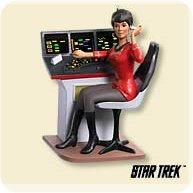 2007 Star Trek - Lieutenant Uhura Hallmark Ornament