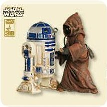 2007 Star Wars #11 - R2d2 And Jawa Hallmark Ornament