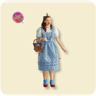 2007 Wizard Of Oz - Dorothy Gale - MNT Hallmark Ornament