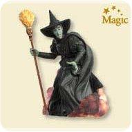 2007 Wizard Of Oz - Wicked Witch - MNT Hallmark Ornament