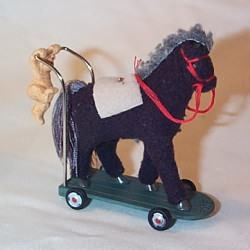 2008 A Pony For Christmas - Spec Ed Hallmark Ornament