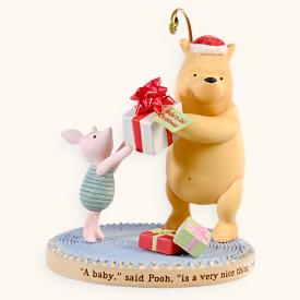 2008 Baby's 1st Christmas - Pooh Hallmark Ornament