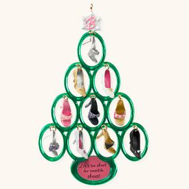 2008 Barbie Shoe Tree Hallmark Ornament