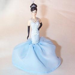 2008 Barbie - Soiree - Club Porcelain Hallmark Ornament