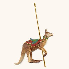 2008 Carousel Ride Se- Happy Kangaroo Hallmark Ornament